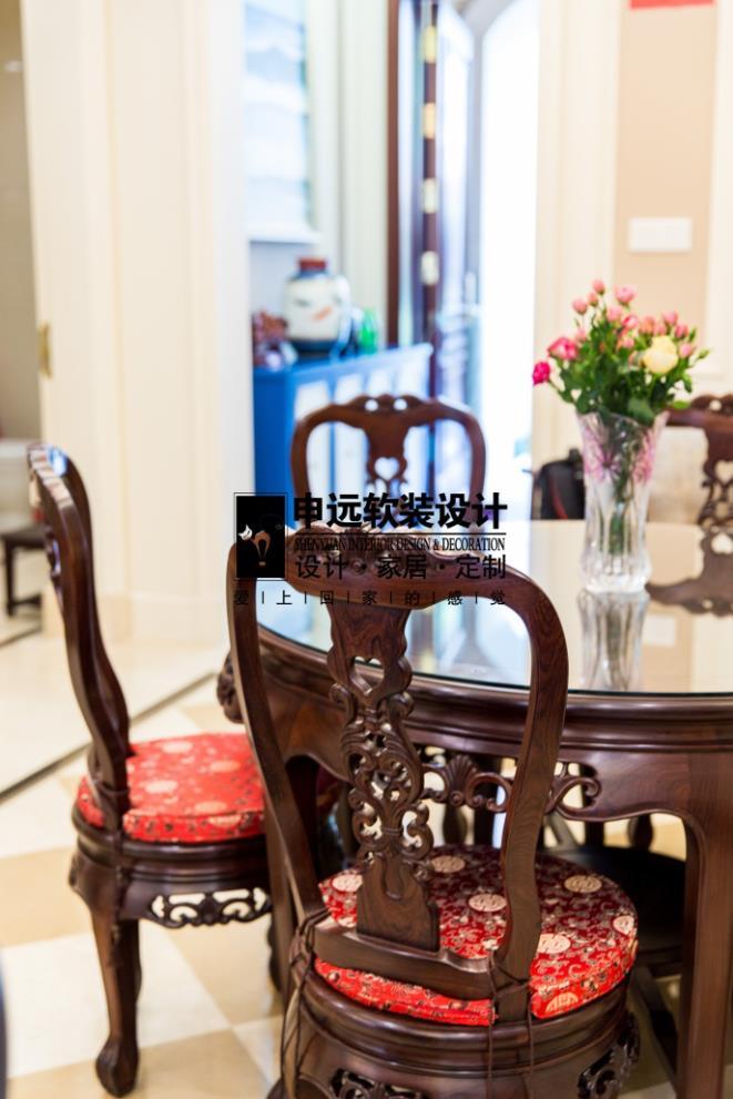 别墅 北京申远 申远空间 混搭 别墅装修 餐厅图片来自申远空间设计北京分公司在北京申远空间设计-实景拍摄的分享