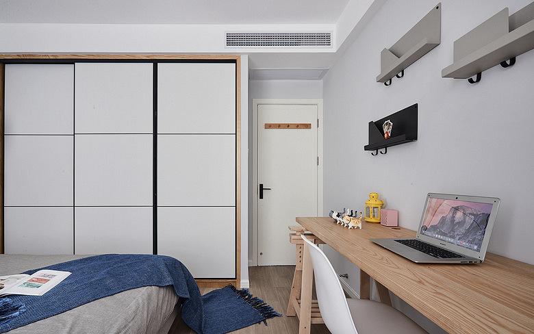 卧室图片来自家装大管家在舒适舒心 86平北欧素雅二人世界的分享