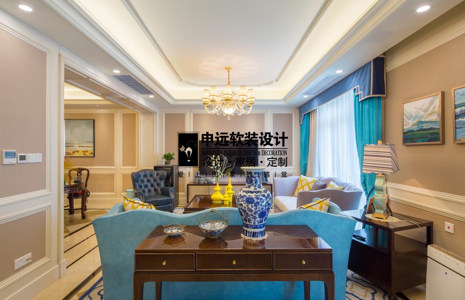 别墅 北京申远 申远空间 混搭 别墅装修 客厅图片来自申远空间设计北京分公司在北京申远空间设计-实景拍摄的分享