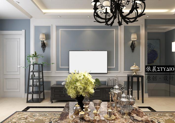 隆河谷 欧式风格 别墅 客厅图片来自百家设计小刘在隆河谷280平欧式风格的分享