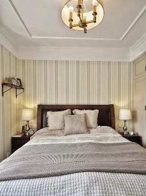 旧房改造 三居 美式 卧室图片来自今朝装饰老房装修通王在130平小资美式风格的分享