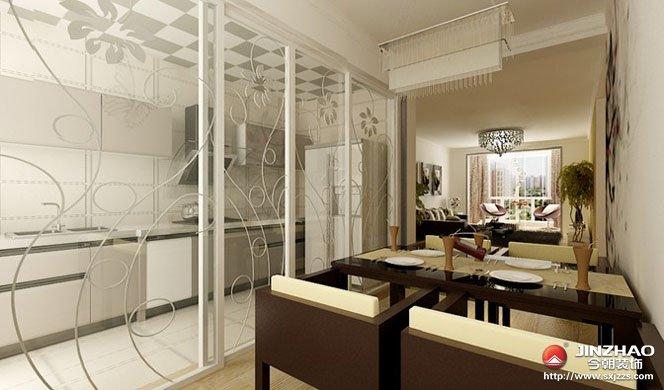简约图片来自努力啊在三室两厅现代简约的分享