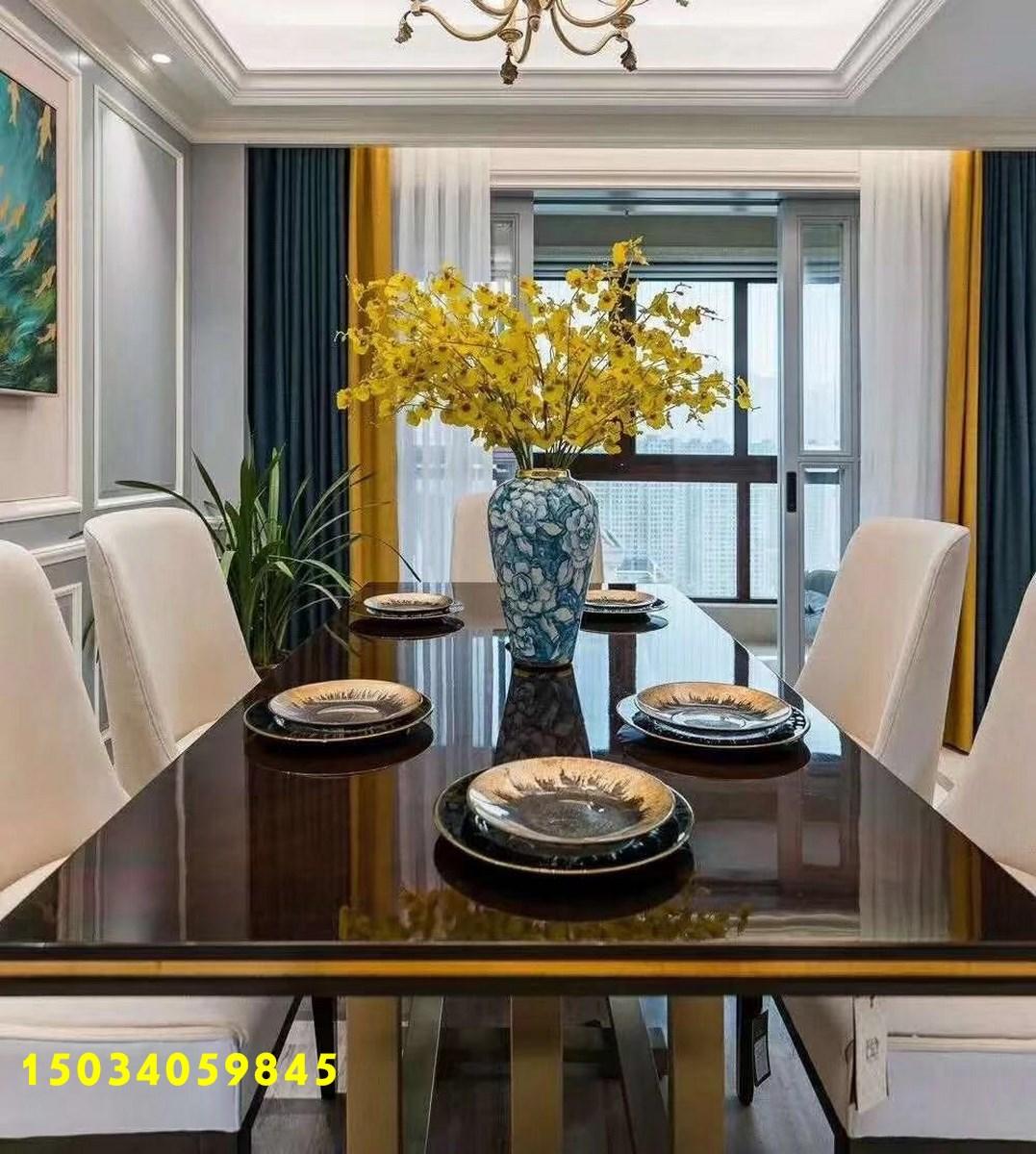 欧式 三居图片来自山西今朝装饰在198㎡现代简欧四居室的分享
