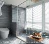 极致简约 淋浴间简约的线条与玻璃隔间的完美融合,精准呈现空间的极致美式优雅。