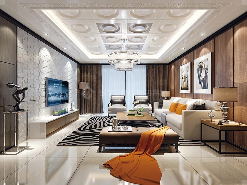 简约 客厅 现代风图片来自荔枝or李子在施丹吊顶·全屋顶墙效果图的分享