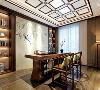 中式诗情画意书房茶室