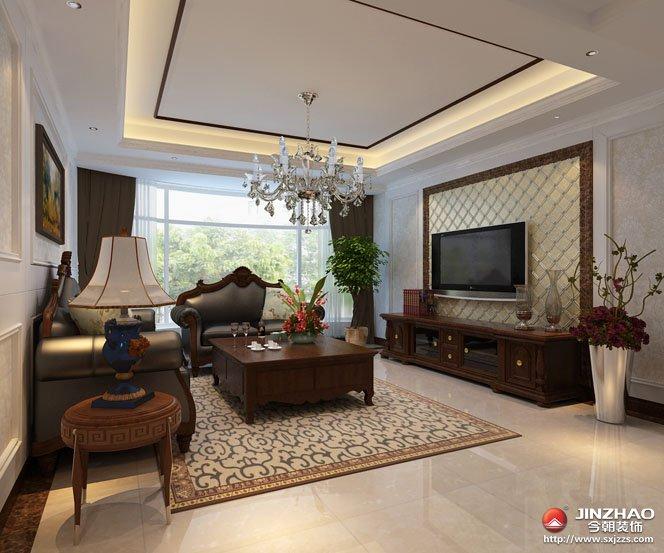 简约 三居 客厅图片来自今朝装饰Farzeo在现代简约。的分享