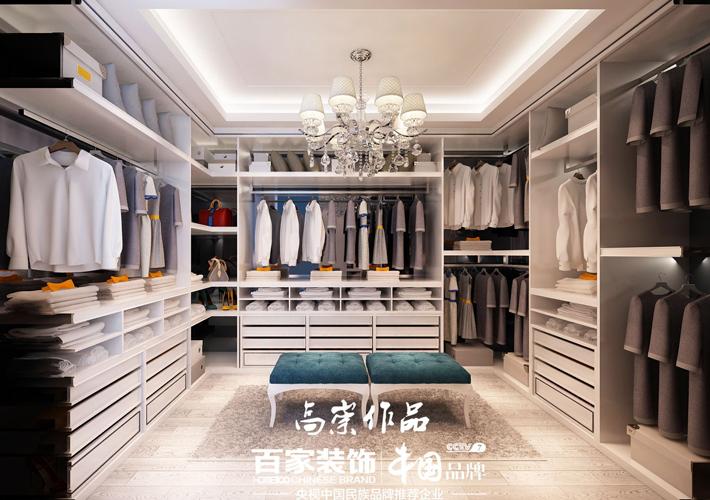 钻石墅 轻奢欧式 别墅装修 衣帽间图片来自百家设计小刘在碧桂园钻石墅420平轻奢欧式风的分享