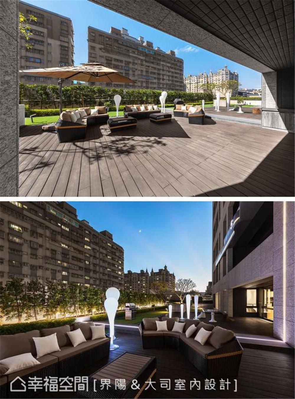 装修设计 装修完成 休闲多元 阳台图片来自幸福空间在298平,客制化人文住宅魅力的分享