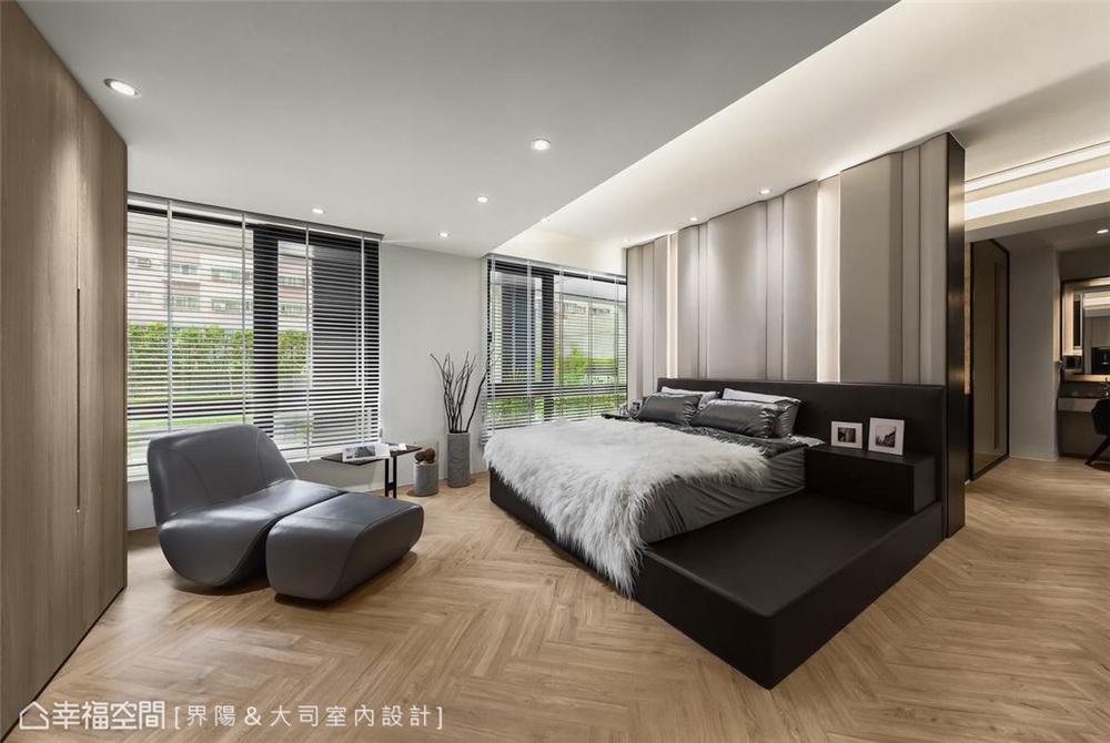 装修设计 装修完成 休闲多元 卧室图片来自幸福空间在298平,客制化人文住宅魅力的分享
