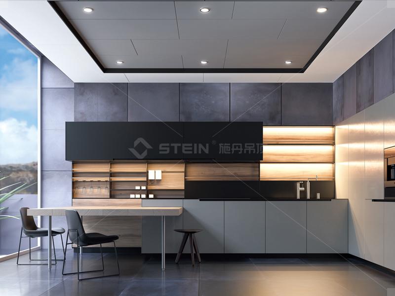 简约 厨房 餐厅 现代图片来自荔枝or李子在施丹吊顶·全屋顶墙效果图的分享