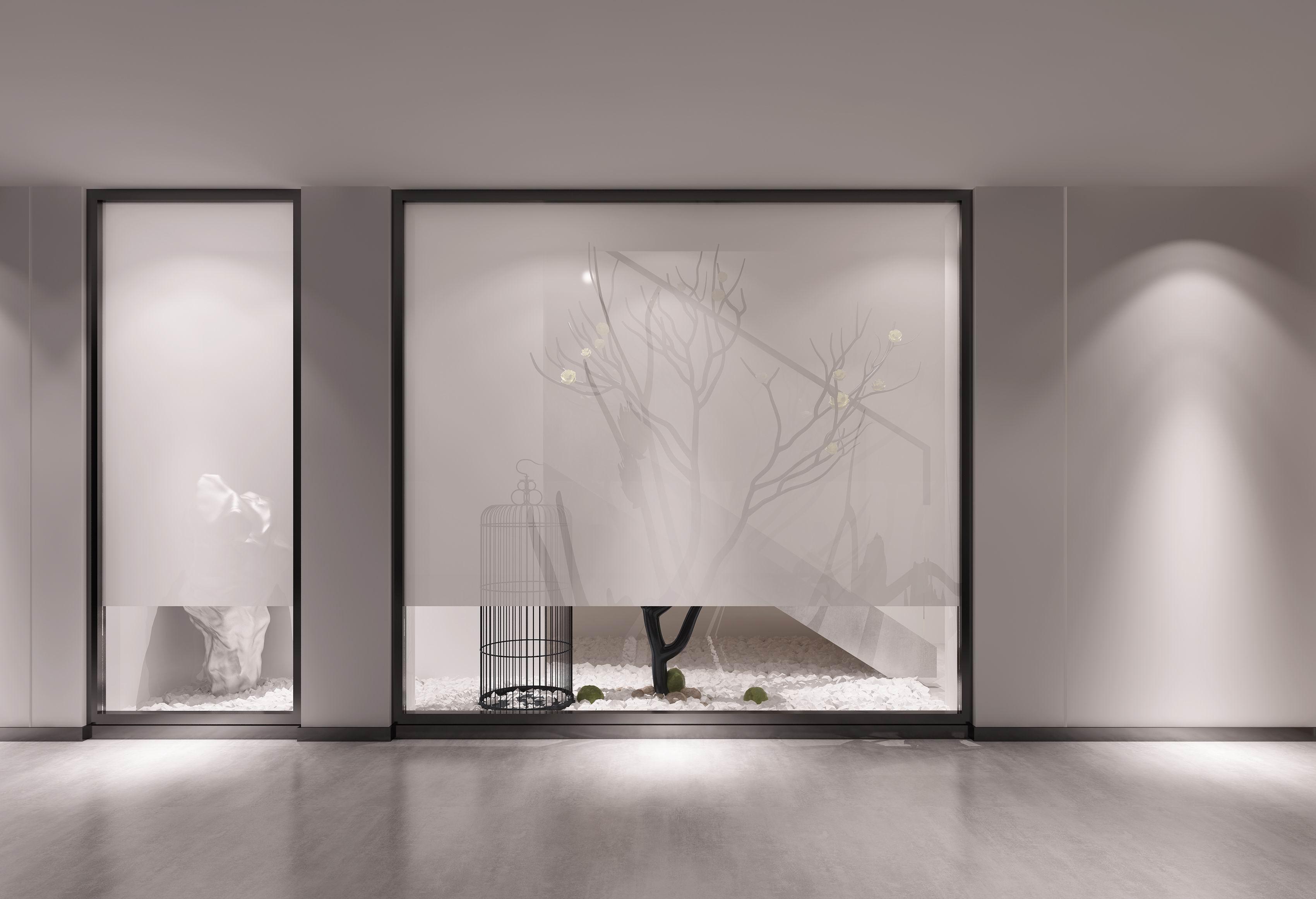 别墅 设计 装修 案例 新中式 走廊图片来自无锡别墅设计s在水岸名府新中式450㎡装修案例的分享