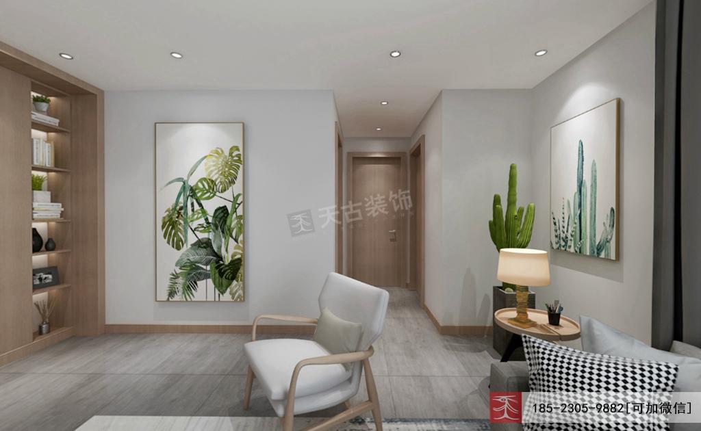 北欧 三居 天古装饰 客厅图片来自重庆天古装饰公司在龙湖新江与城清晖时光装修效果图的分享