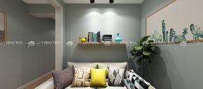 北欧 清新北欧 白领 旧房改造 小资 简约 混搭 清新 舒适 书房图片来自二十四城装饰(集团)昆明公司在蓝光·林肯公园  北欧风的分享