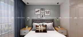 北欧 清新北欧 白领 旧房改造 小资 简约 混搭 清新 舒适 卧室图片来自二十四城装饰(集团)昆明公司在蓝光·林肯公园  北欧风的分享