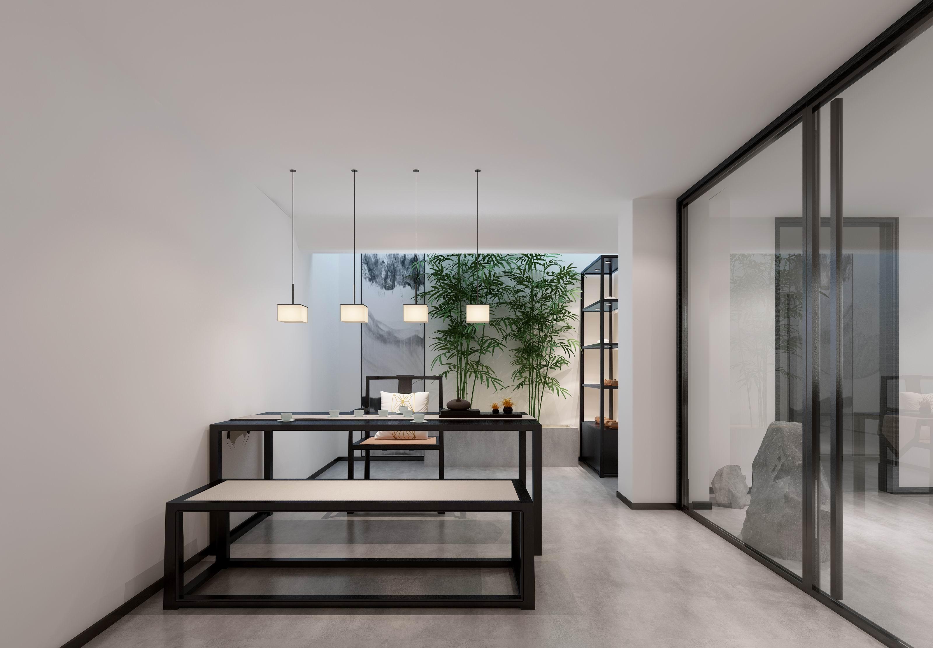 别墅 设计 装修 案例 新中式 茶室图片来自无锡别墅设计s在水岸名府新中式450㎡装修案例的分享