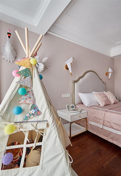 卧室图片来自家装大管家在温馨味道 110平现代美式混搭3居的分享