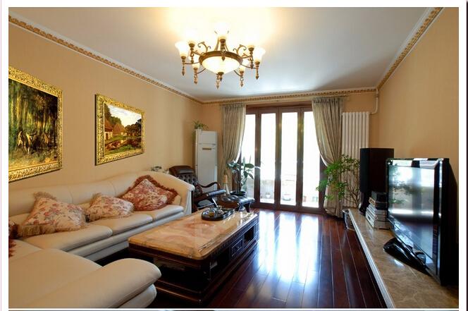 简约 欧式 客厅图片来自今朝宜居装饰在简欧,突出新奢华的分享
