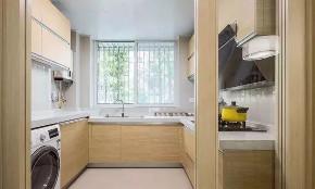简约 现代 全案设计 鹏友百年 厨房图片来自鹏友百年装饰在柔和清简贯穿全屋的分享