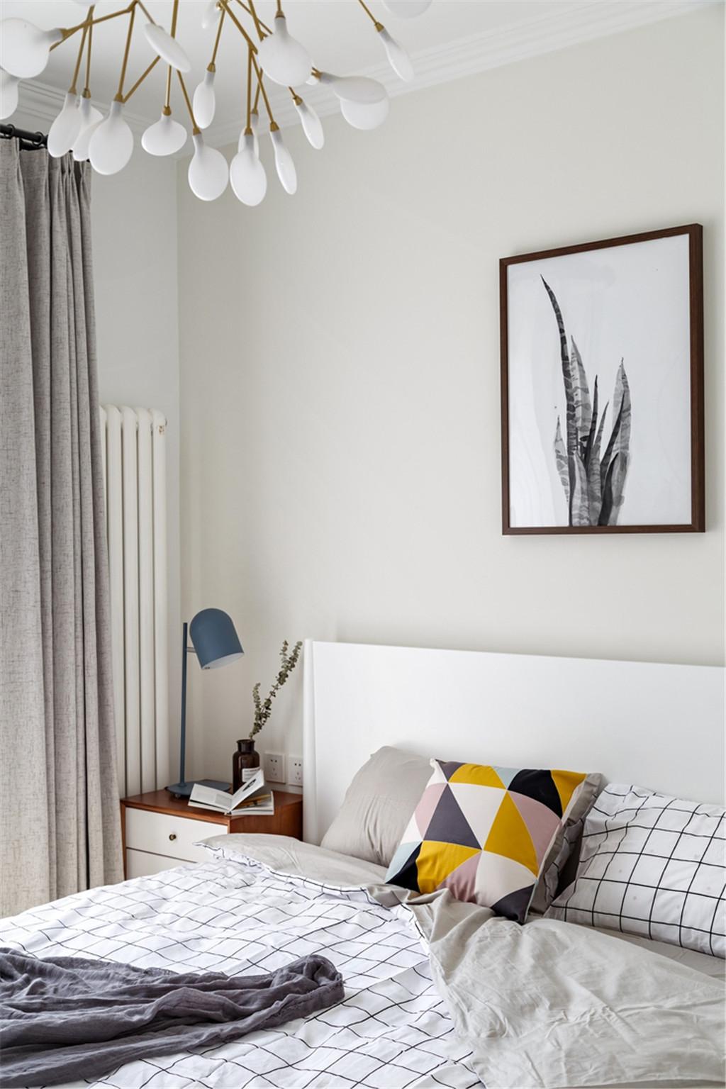 三居 旧房改造 80后 小资 卧室图片来自北京今朝装饰在北欧主义风的分享