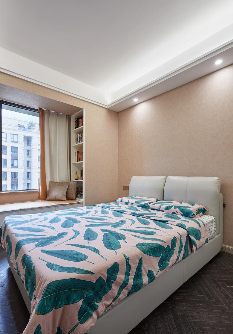 卧室图片来自家装大管家在简洁明亮 118平高冷现代时尚3居的分享