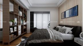 现代简约 现代 白领 小资 高富帅 白富美 舒适 温馨 梦想家 卧室图片来自二十四城装饰(集团)昆明公司在中建龙熙壹号  现代简约的分享