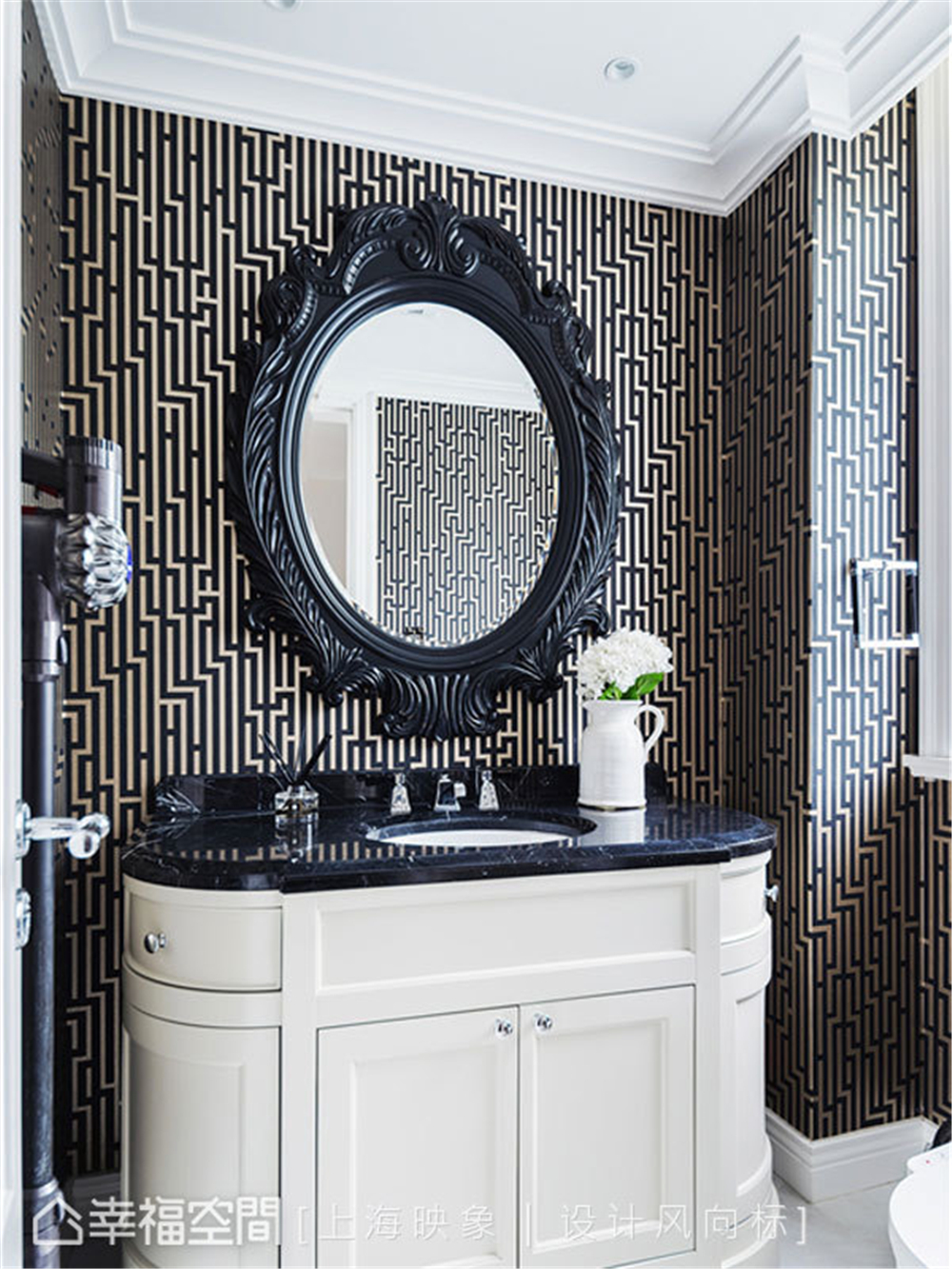 装修设计 装修完成 美式风格 卫生间图片来自幸福空间在450平,中西并蓄,美式豪邸的分享