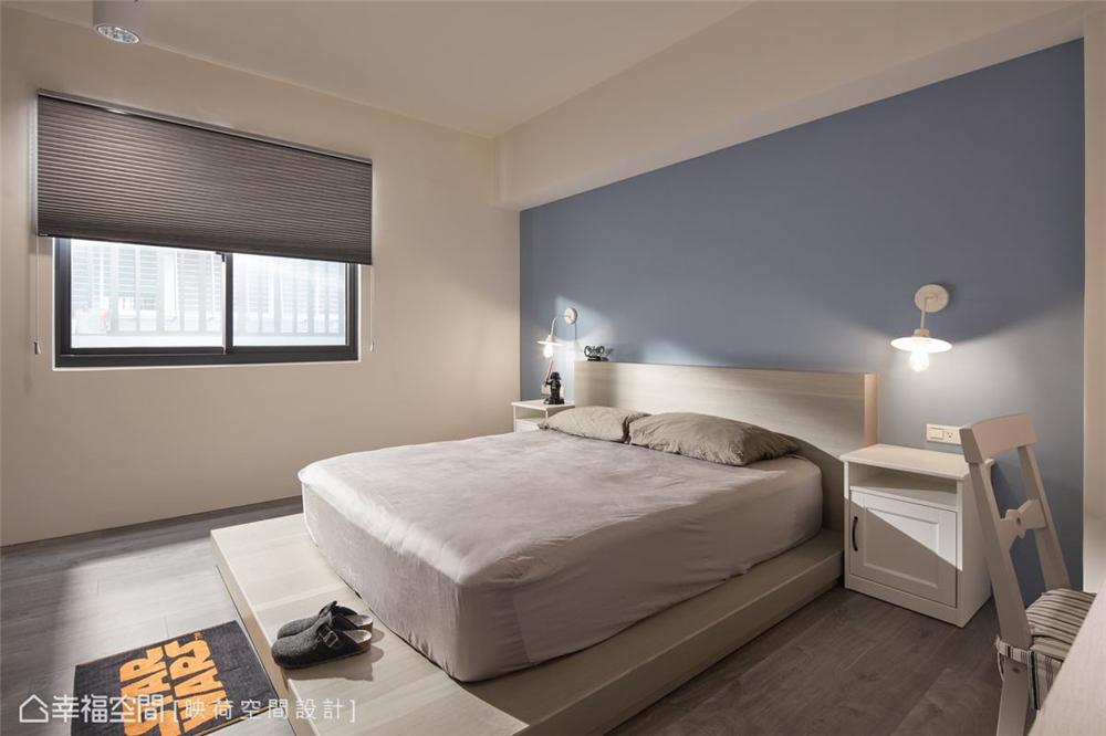 装修设计 装修完成 现代风格 卧室图片来自幸福空间在99平,明亮鲜趣 大人的玩具屋的分享