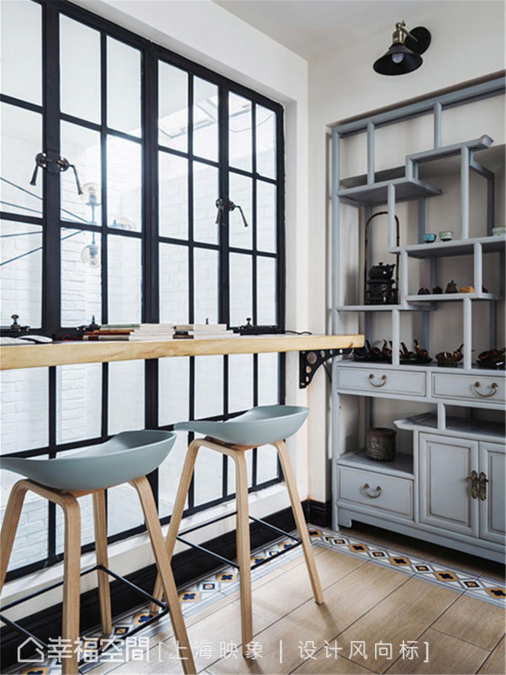 装修设计 装修完成 美式风格 书房图片来自幸福空间在450平,中西并蓄,美式豪邸的分享