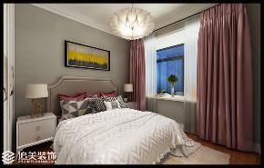 二居 美式 中南广场 河南追美装 洛阳装修 卧室图片来自河南追美装饰在中南广场85㎡小美式的分享
