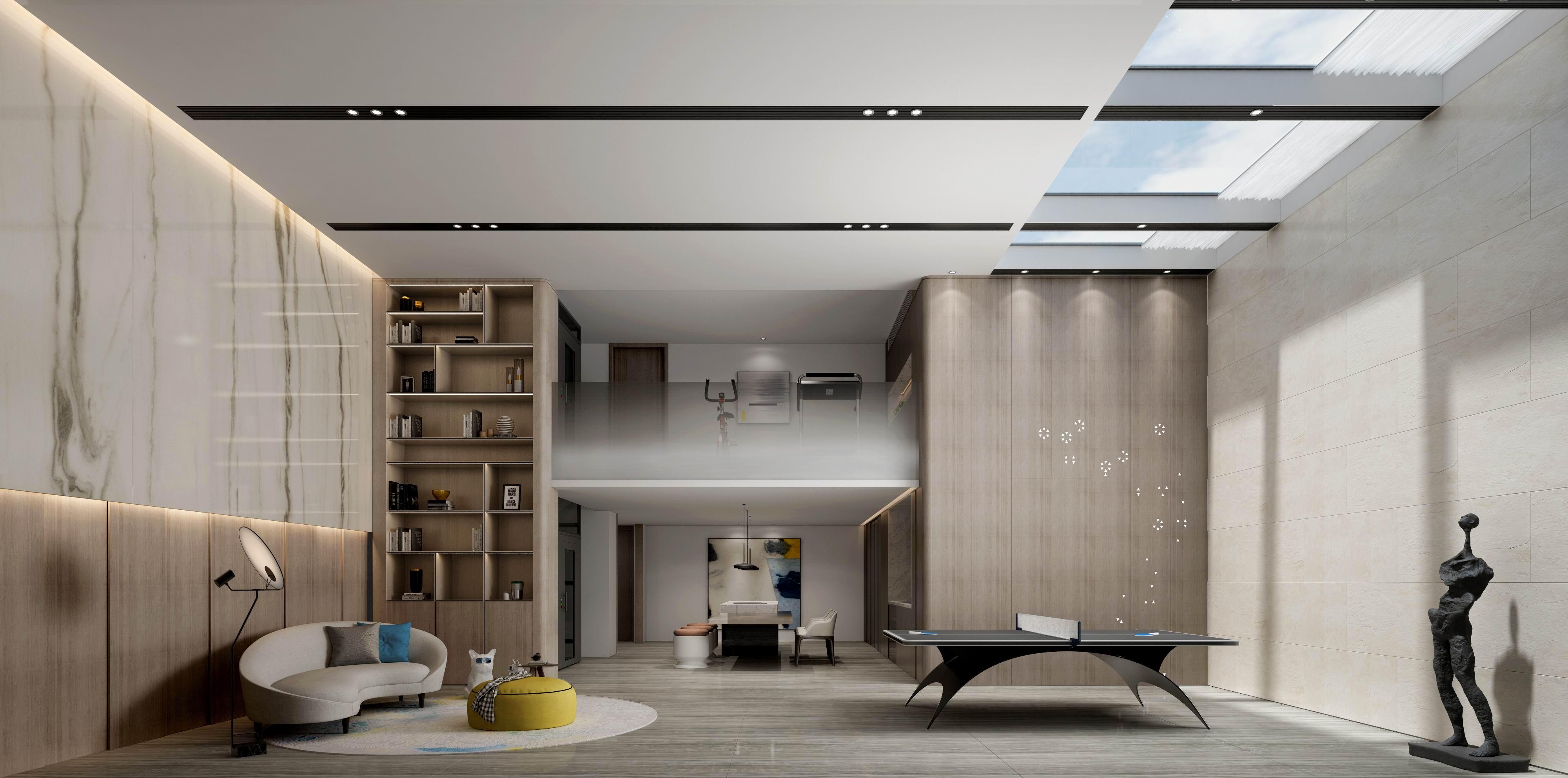 地下休闲区图片来自无锡别墅设计s在别墅528㎡阿卡迪亚现代简约案例的分享