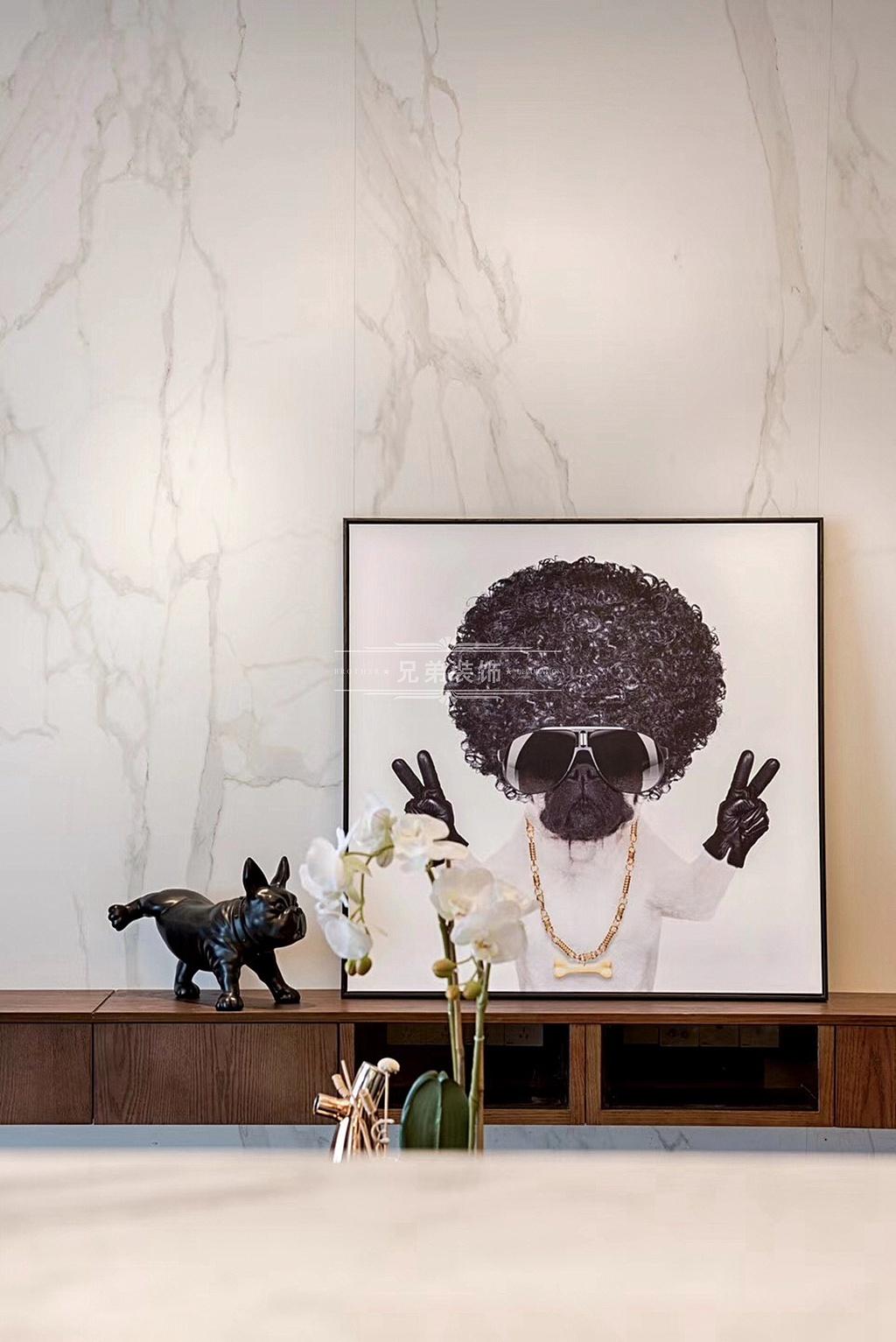 现代轻奢 装修设计 客厅图片来自重庆兄弟装饰黄妃在重庆南滨特区装修设计效果的分享