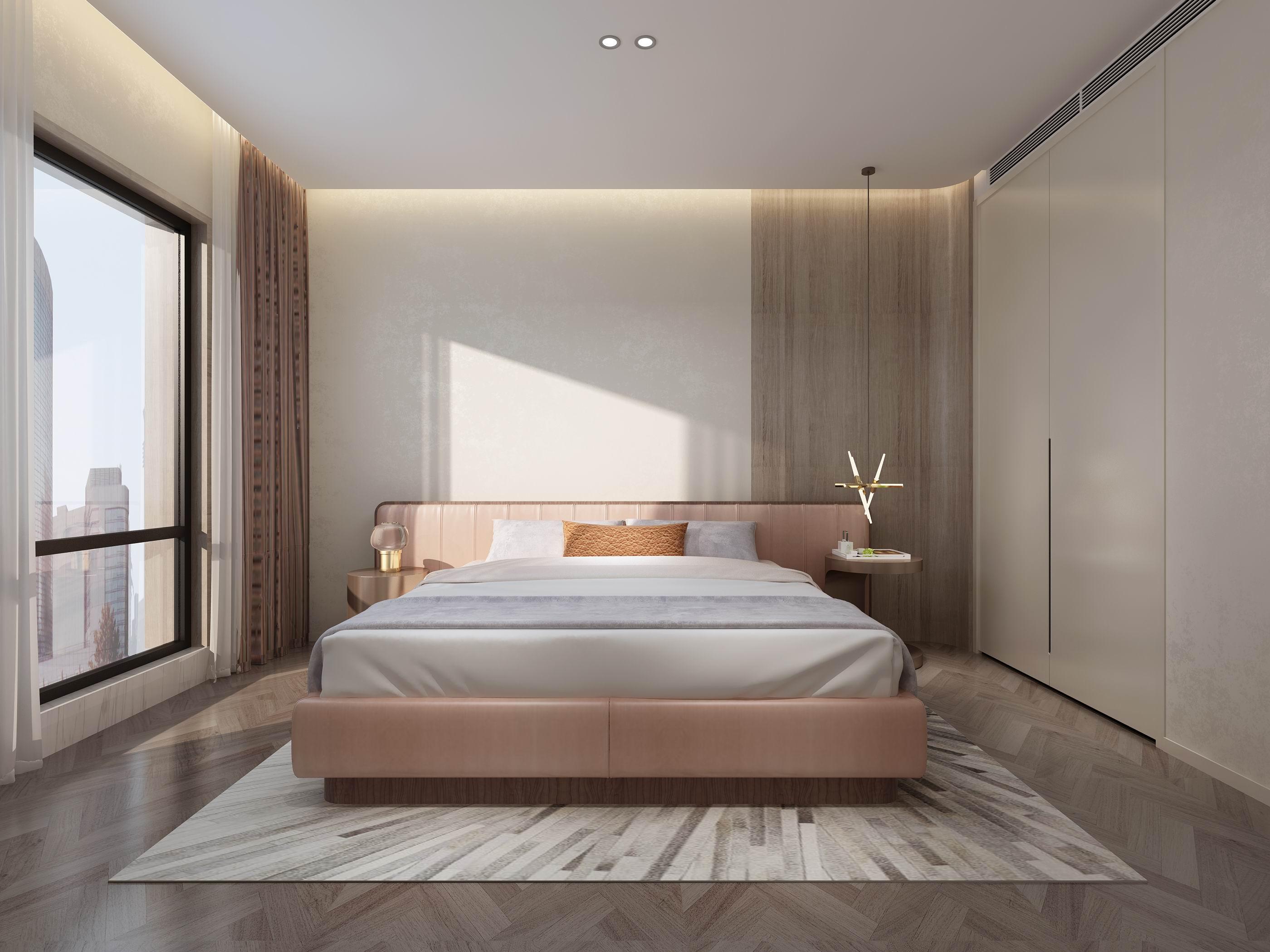 卧室图片来自无锡别墅设计s在别墅528㎡阿卡迪亚现代简约案例的分享