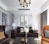 家具都是统一采购的,线条流畅简单,纯色是个十分保险的选择,绝对的百搭。