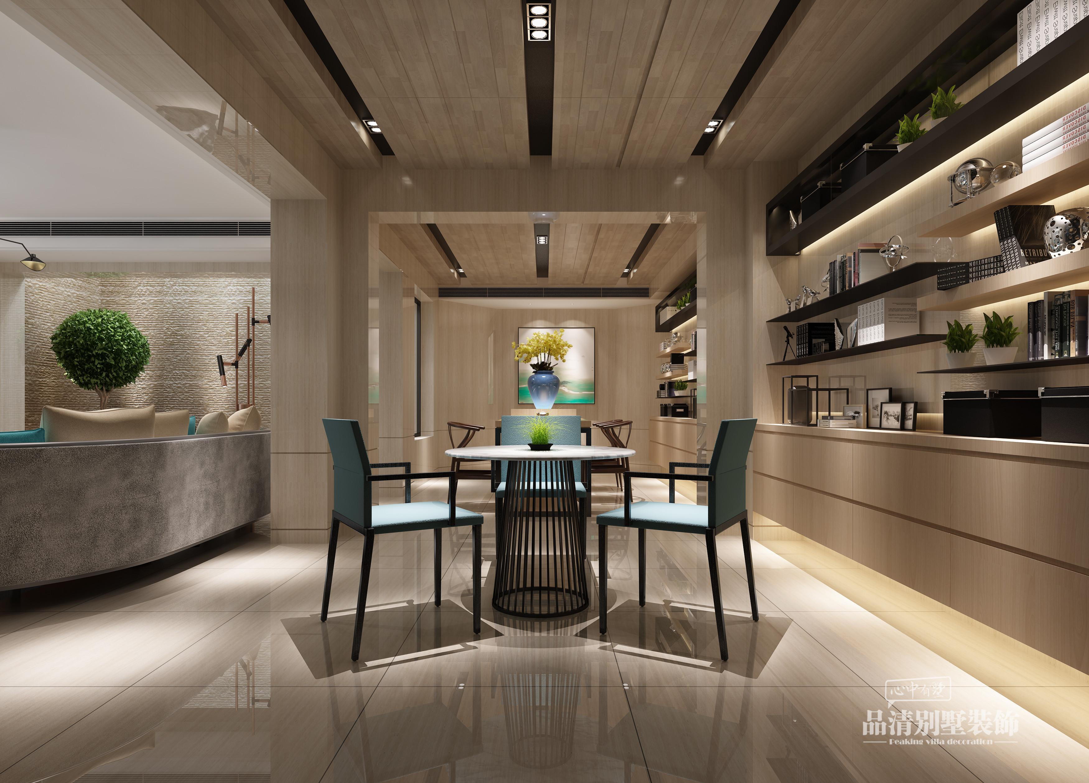 别墅设计 别墅装修 无锡别墅 现代风格图片来自别墅装修设计师在太湖锦绣园450㎡现代风格的分享