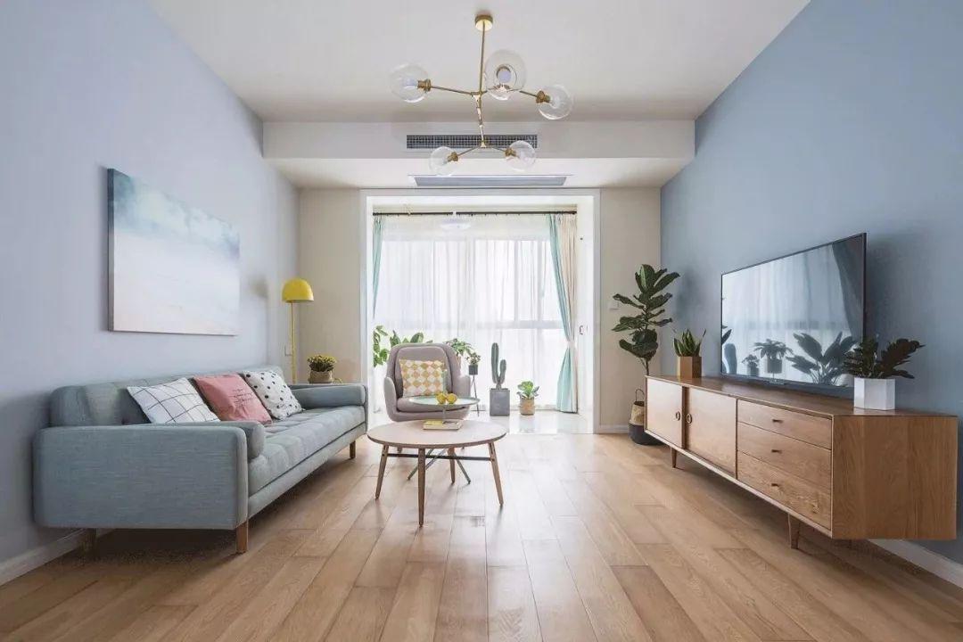 客厅图片来自鹏友百年装饰在这样清新舒适,可真自在的分享