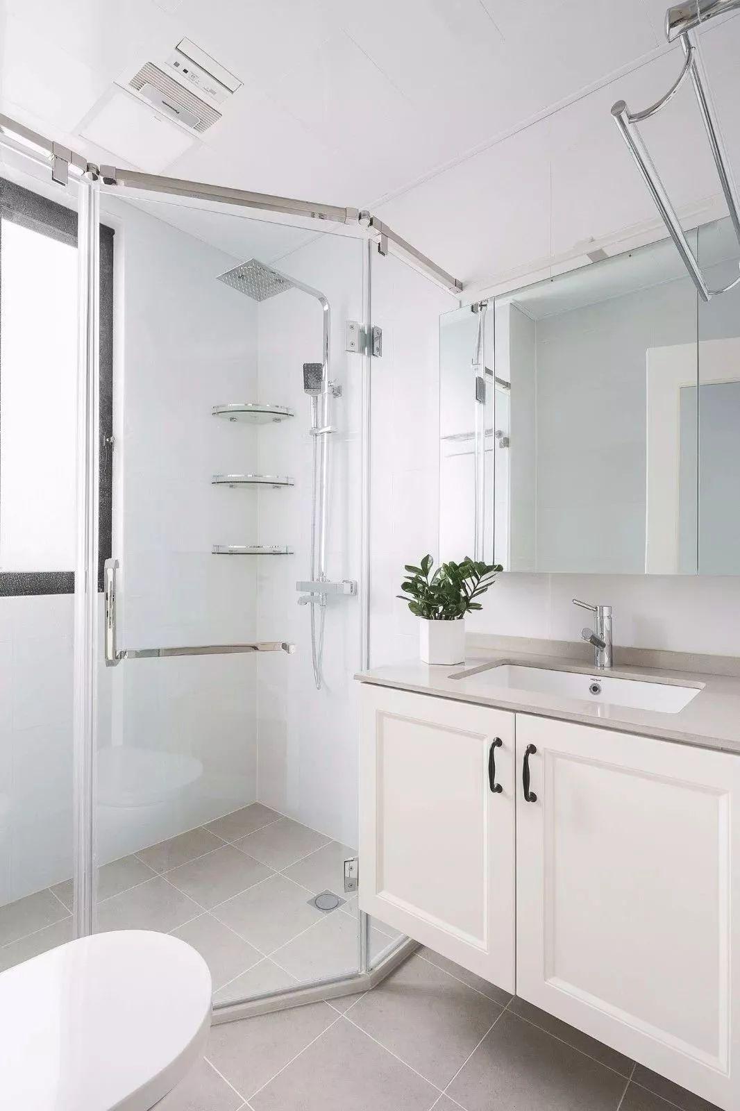 卫生间图片来自鹏友百年装饰在这样清新舒适,可真自在的分享