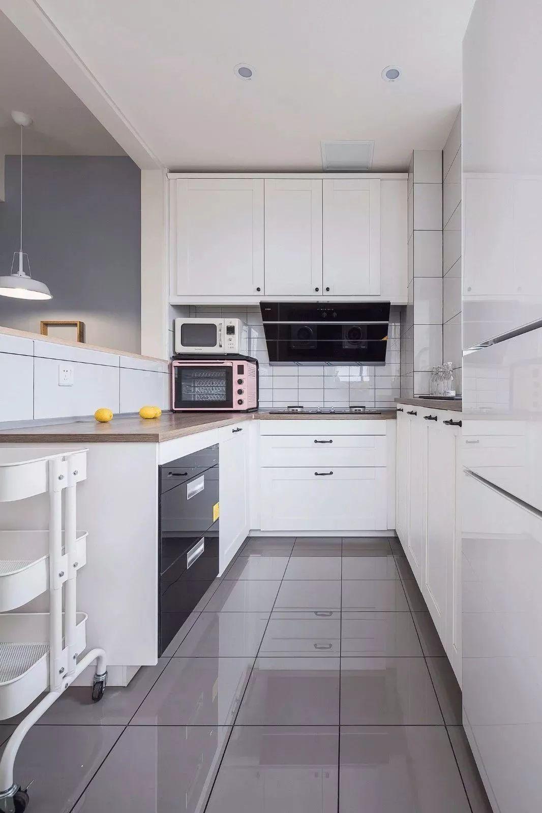 厨房图片来自鹏友百年装饰在这样清新舒适,可真自在的分享