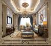 客厅采用米黄大理石的暖色调作为整个空间的基调,用金属线条与大理石融合的手法使其完美的结合,在这个优雅、高贵和浪漫氛围的居室里,同样也弥漫着复古、自然主义的格调,让人心动不已。