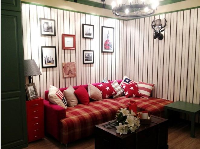 田园 客厅 卧室 餐厅图片来自今朝宜居装饰在英式田园风格家居的分享