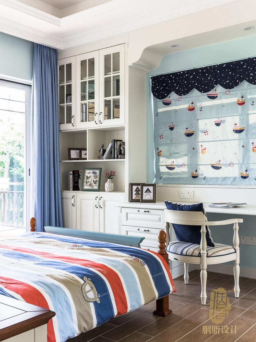 混搭 别墅 客厅 卧室 厨房 餐厅 收纳 美式 自建房图片来自用户20000004448550在祥岗10号   460㎡美式别墅的分享