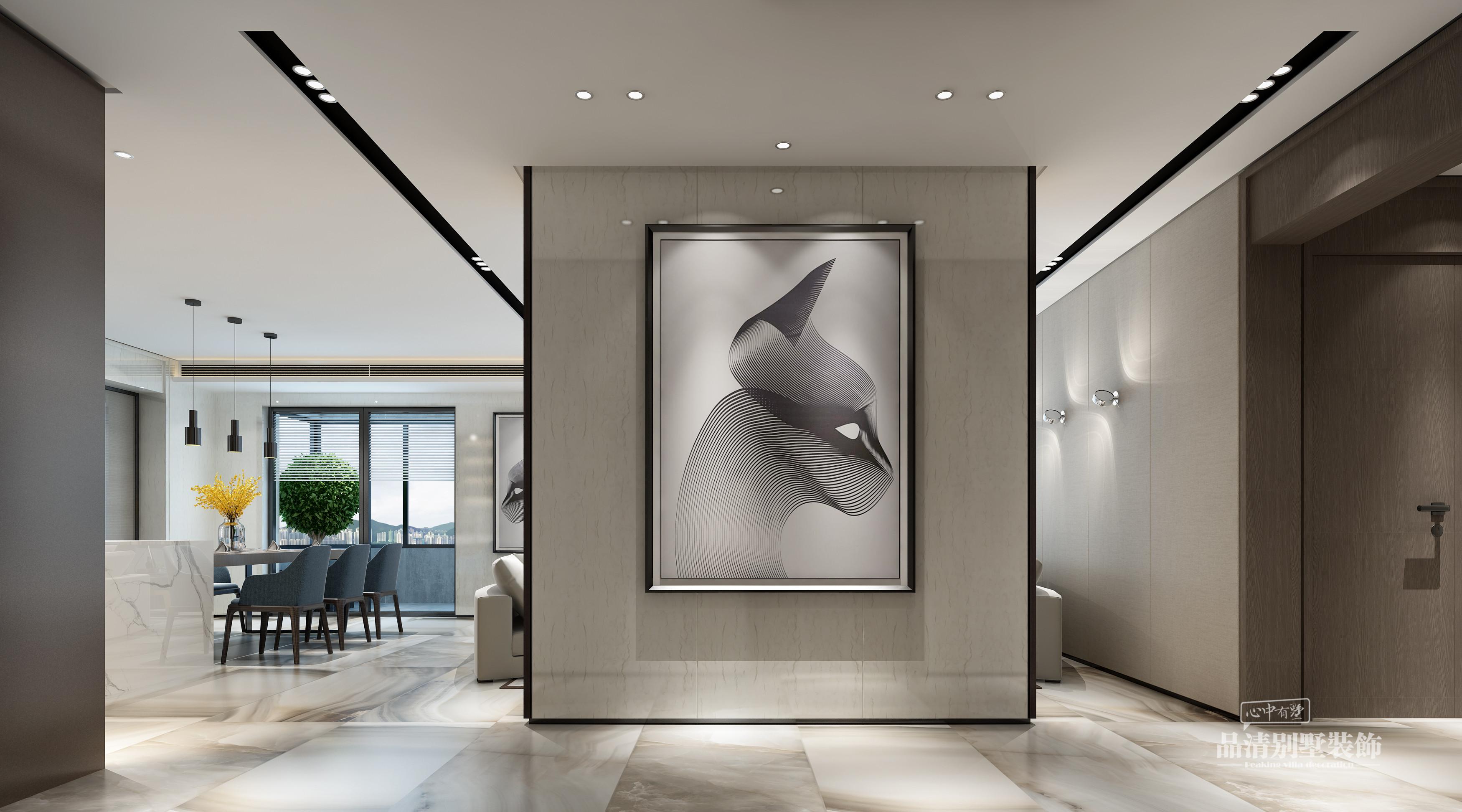 无锡别墅 别墅装修 别墅设计 现代风格图片来自别墅装修设计师在万科金域蓝湾现代风格的分享