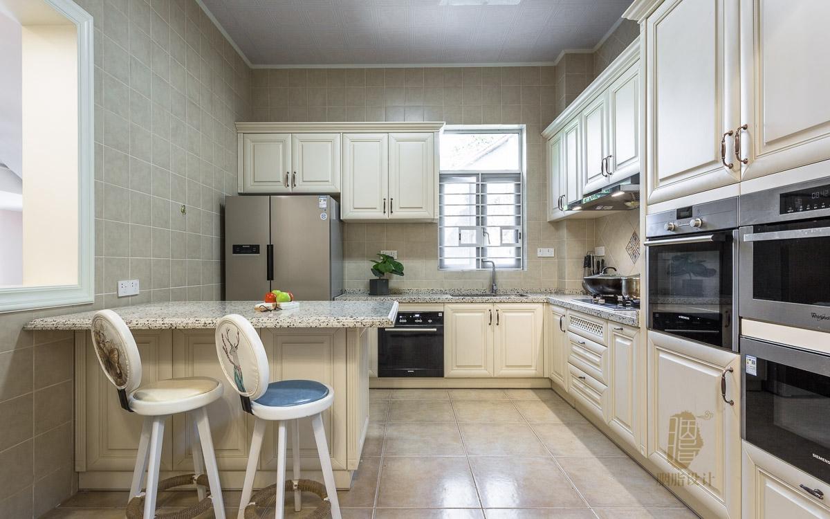 混搭 别墅 客厅 卧室 厨房 餐厅 收纳 美式 自建房图片来自用户20000004448550在祥岗10号 | 460㎡美式别墅的分享