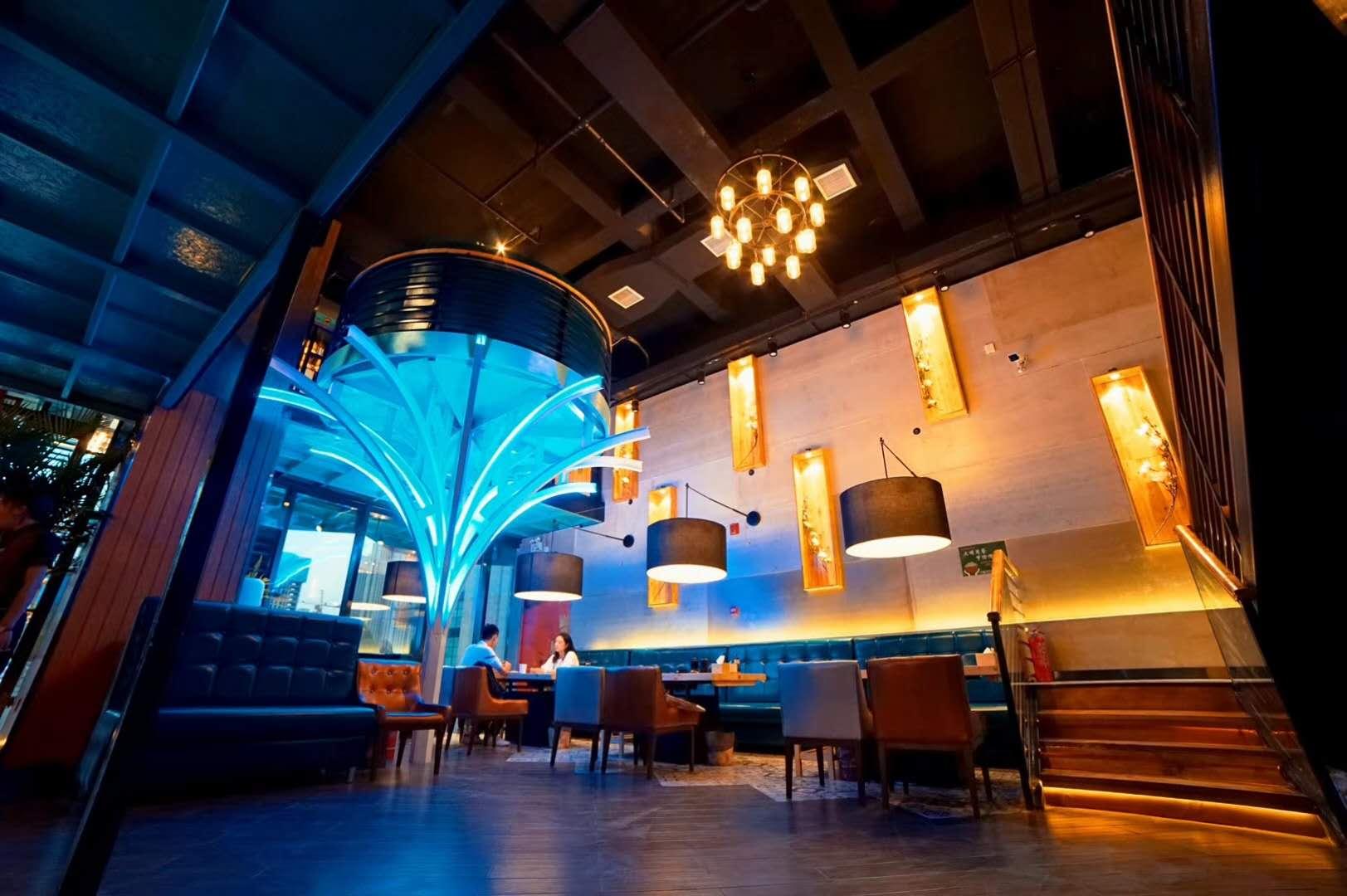 火锅店 餐饮空间图片来自乔发明在大红焱火锅店的分享