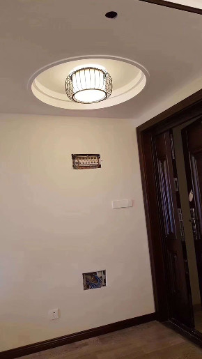 中式古典 三居 白领 小资 玄关图片来自陕西峰光无限装饰在西派国际三室两厅两卫的分享