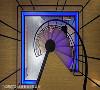 夜间灯带 楼梯口地板特别配置一圈优雅灯带,除了可当作夜间照明使用,同时也提升空间的立体层次,成为串联上下层楼的活泼转场。