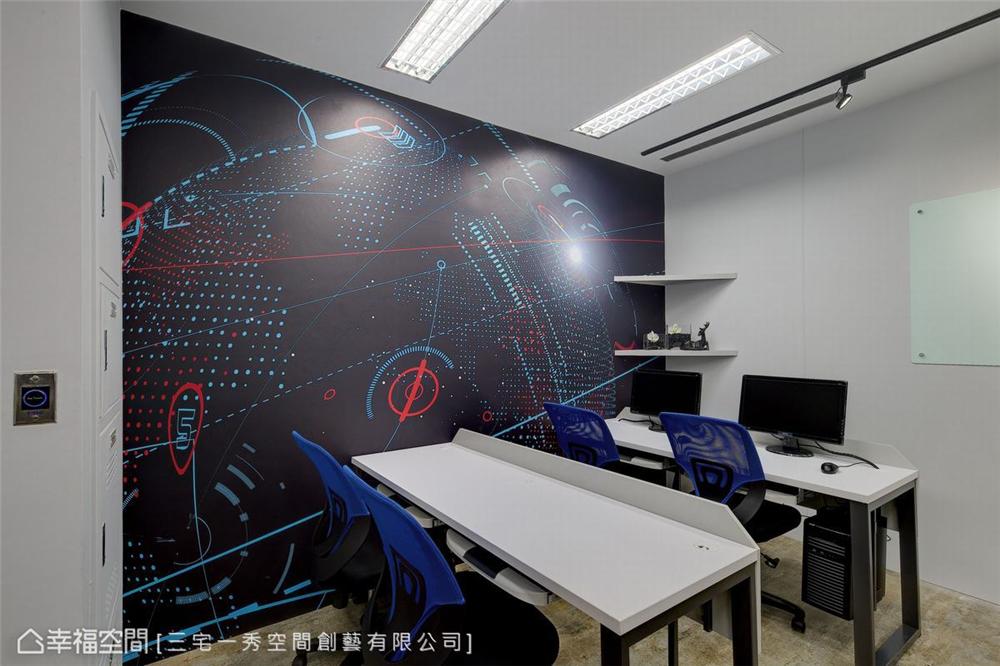 装修设计 装修完成 工作空间 其他图片来自幸福空间在324平,台中凯德  科技感工作室的分享