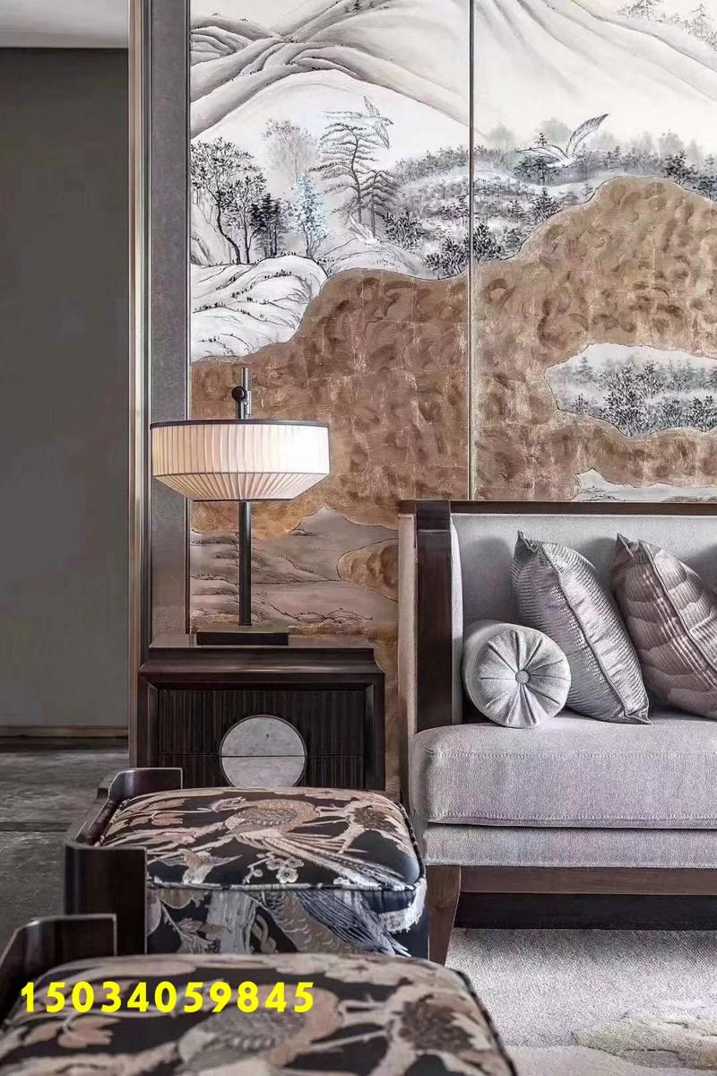 三居 简约图片来自山西今朝装饰在220平,新中式的分享