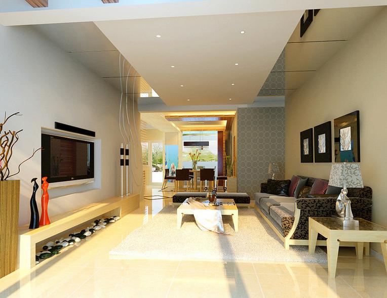 客厅 餐厅图片来自今朝宜居装饰在简洁明快的设计风格的分享