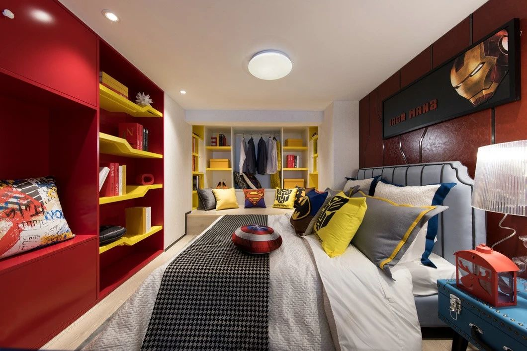混搭 鹏友百年 重庆家装 全案设计 卧室图片来自鹏友百年装饰在90后梦想户型的分享
